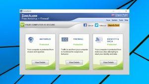 Zone Alarm Free Antivirus